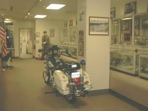 a Five-0 era motorcycle.The blue light from early seasons closing credits was of the rear light of these bikes.