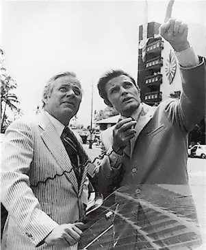 Jack Lord and William Windom