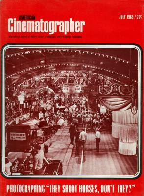 cover of the July 1969 issue of American Cinematographer