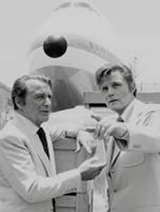 Jack Lord and Rossano Brazzi