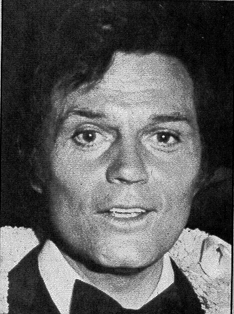 B&W smiling Jack Lord