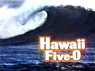 Hawaii Five-0 wave and logo
