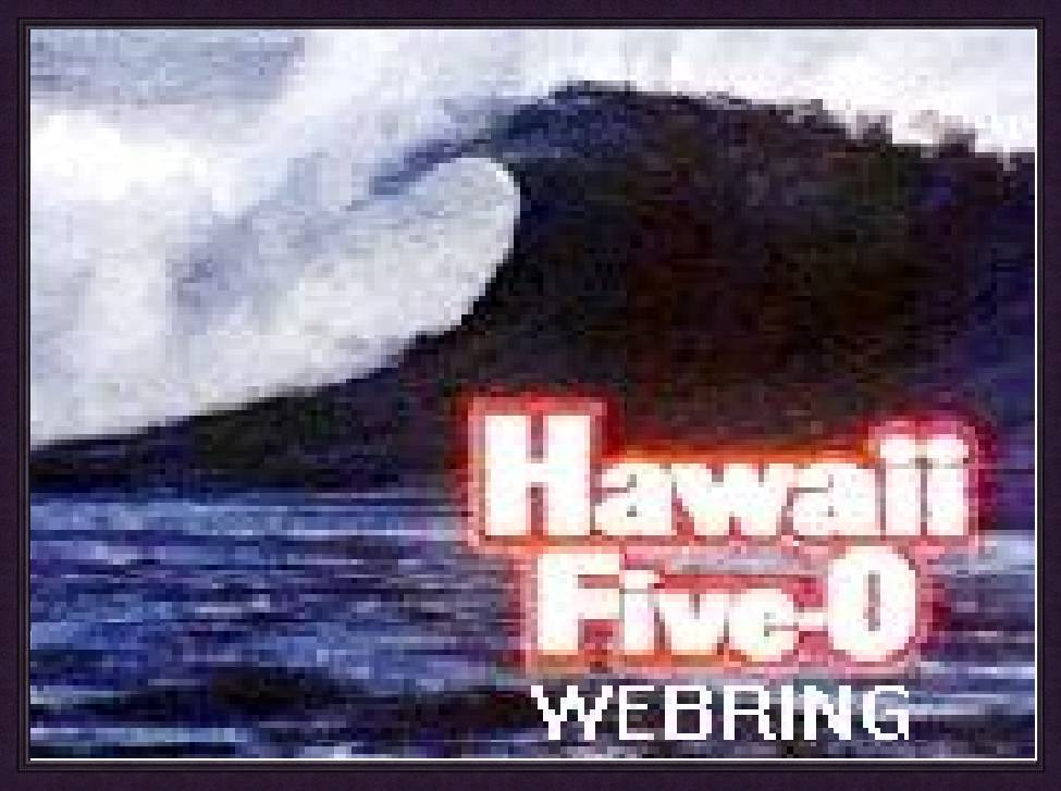 Hawaii Five-0 WebRing